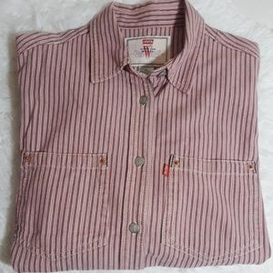 Levi's Jeans For Women Striped Shirt-Size M
